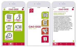 De cao-app die ontwikkeld is voor de Geestelijke gezondheidssector