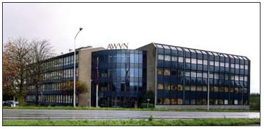 AWVN-kantoor midden jaren negentig